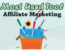 What is the Most Used Affiliate Marketing Tool