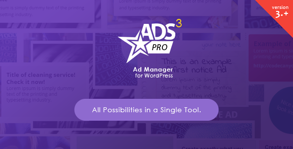 ADS Pro – Multi-purpose WordPress Ad Manager