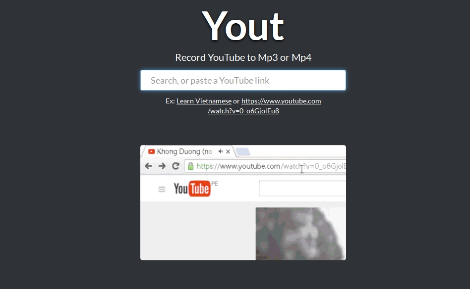 Download YouTube videos as MP3 or MP4 on a Click